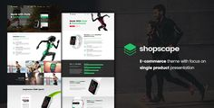 Shopscape – Single Product & WooCommerce Shop Theme  Shopscape is a WordPress Theme exclusively built for single product, shop, store and eCommerce websites. It is fully Responsive, Retina Ready an...