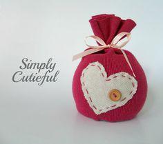 Upcycled Pink Newborn Hat