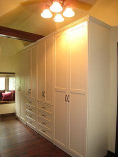 closet renovation in masterbedroom - Google Search