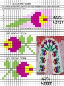 This Pin was discovered by Сон Diy Crafts Knitting, Diy Crafts Crochet, Knitting Blogs, Knitting Charts, Crochet Projects, Knitting Patterns, Loom Patterns, Tunisian Crochet Patterns, Crochet Bikini Pattern
