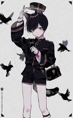 Anime Oc, Anime Chibi, Kawaii Anime, Manga Anime, Cute Anime Boy, Anime Art Girl, Anime Poses, Boy Art, Character Design Inspiration