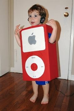 iPod Costume - 25 Best DIY Halloween Costumes for Boys Boxing Halloween Costume, Halloween Costumes Kids Homemade, Fröhliches Halloween, Holidays Halloween, Halloween Clothes, Halloween Couples, Group Halloween, Creative Costumes, Diy Costumes
