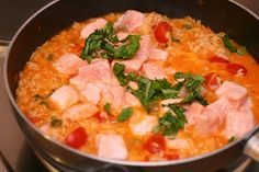 Salmon Risotto by diekatrin, via Flickr