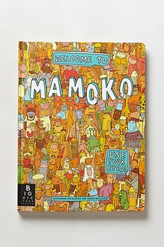 Welcome to Mamoko. Each story-packed page offers encourages your little ones to follow prompts, share discoveries and uncover the mystery. Via #anthropologie
