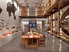 Shinola showroom by Rockwell Group