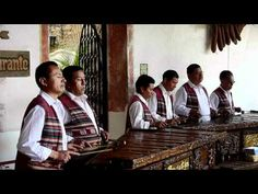Marimba Players in Antigua, Guatemala. One of my absolute favorite things in Guatemala!