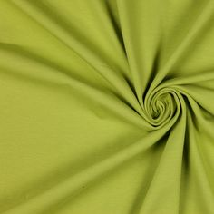 Chartreuse Stretch Cotton Jersey Fabric by the Yard   Mood Fabrics