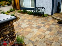 Belgard Catalina Slate incorporates a brilliant textured top that channels the aesthetics of natural slate. Concrete Driveway Pavers, Outdoor Patio Pavers, Walkway, Belgard Pavers, Driveways, Old World, Contemporary, Modern, Searching