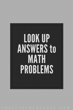 This is a site for you, the educator, not for your students, unless you don't mind them knowing the answers to math problems! At Mathway, you can find free answers to math problems in basic m… Answers To Math Problems, Math Answers, Algebra Problems, Algebra Help, Math Help, Learn Math, Math Sites, Math Courses, College Courses