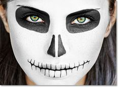 skull face paint - Google Search
