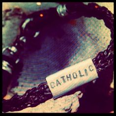 I am Catholic.  This year, it has been a strong call for me to live it out. To value masses. To tell others more of the beauty of the faith. To share the lives of friends we call Saints. To be a saint in the making. To be one with the Church.  I am a Cool Catholic and I am proud to be.