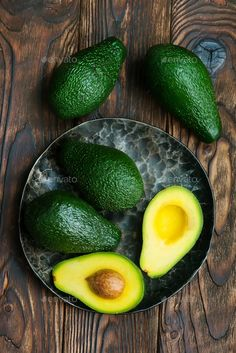 Buy avocado by on PhotoDune. fresh green avocado on the wooden table Fruit And Veg, Fruits And Vegetables, Fresh Fruit, Fresh Green, Food Fresh, Vegetable Painting, Fruits Photos, Fruit Photography, Food Wallpaper