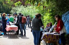Event in Telegraph Hill Park about tackling climate change & waste