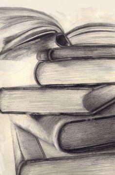 Bildergebnis für easy pencil drawings - - Frisuren Tips Easy Pencil Drawings, Art Drawings Sketches, Cool Drawings, Pencil Sketching, Pencil Sketches Simple, Pencil Drawing Images, Value Drawing, Art Du Croquis, Creative Sketches
