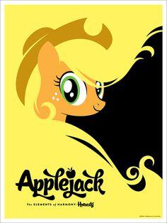 Acidfree Gallery LLC - Applejack by Michael De Pippo, $40.00 (http://www.acidfreegallery.com/applejack-by-michael-de-pippo/)