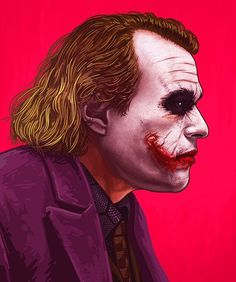 Joker by Mike Mitchell. Awesome.