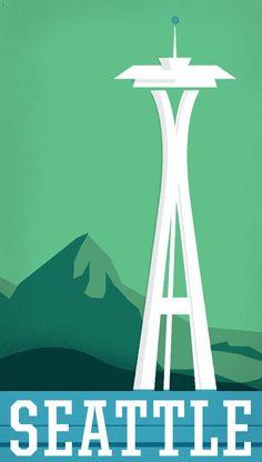 Seattle, Washington - Vereinigte Staaten von Amerika / United States of America / USA