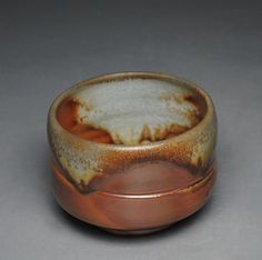 Tea Bowl Wood Fired Chawan F67 by JohnMcCoyPottery on Etsy