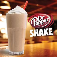 Burger King's newest milkshake: the Dr Pepper Shake // AKA a Dr Pepper float? Baylor's been doing that for years. #SicEm