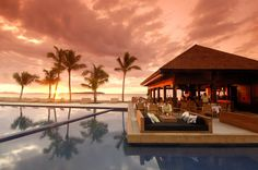 By the pool.. Fiji.