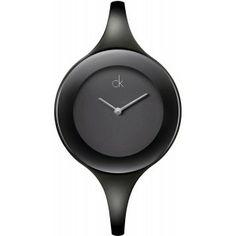 Montre calvin klein ck mirror l femme k2823360 montres for Miroir noir watch online