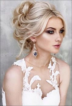 wedding hairstyles for round faces 44