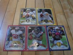 #2013 #Topps Legends in The Making Insert Lot 5 #BenRoethlsiberger #DrewBrees #RoddyWhite #PatrickWillis | #eBay