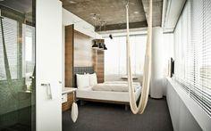 Hotel Daniel: Zimmer mit Hängematte