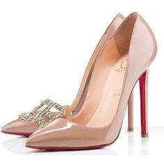 Chaussure Louboutin Pas Cher Pompe Alta Campus 150mm Brun21 #heels