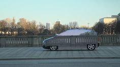 Two incredible inventions in one.  First, fuel cell technology for automobiles, and an interesting cloaking device.