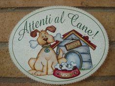 Risultati immagini per targhette per cani