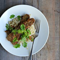my darling lemon thyme: jerk tempeh with coriander (cilantro) sauce recipe