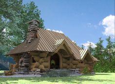 of wood Wooden Arbor, Arbors, House Styles, Home Decor, Decoration Home, Room Decor, Outdoor Pavilion, Pergolas, Home Interior Design