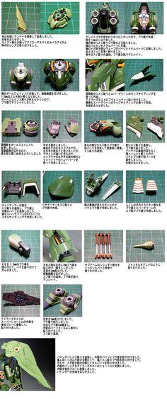 HGUC NZ-666 Kshatriya Gundam Tutorial, Gundam 00, Gundam Custom Build, Sci Fi Models, Modeling Techniques, Gunpla Custom, Gundam Model, Model Building, Plastic Models