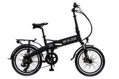 Amazon.com : 2015 e-JOE Epik Sport Edition SE Midnight Black Folding Electric Bike : Sports & Outdoors
