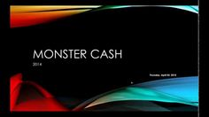 """Monster Cash 2014 3 APR Webinar Hey Guys!  Crazy Cash Club.. is Great.  What ever Business you are doing, Keep doing.. BUT YOU have to watch this video.. We have Opened the Doors.. For Pre- Registration  June 1st.  Today July 6th over 5000+ members.. Building to 500,000+. Jump in """"FREE""""  No Cost... Watch to see how at Launch as a Free member you can earn the 1st Day..http://www.crazycashclub.com/aff_tools/alanbourne/tool/email_ads/1"""