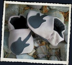 Rock Star Guitar Shoopers Newborn to Toddler 13  by outofhandkids, $16.00