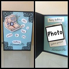 Birthday Card, Geburtstagskarte, lawn fawn die and stamp, say cheese