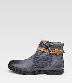 A.S. 98 Vintage leather Blue