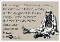 #fibromyalgia  |  Exactly!  I especially hate it when people like that call themselves spoonies.  If you can hold a job, have a social life, AND not have the health department condemn your house, then you're no #spoonie.