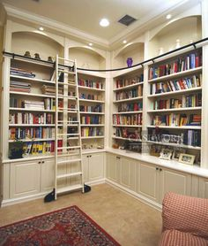 Custom Bookcase Ideas | ProSkill Construction - New Jersey Remodeling - Kitchens, Baths, Additions