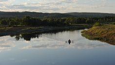 Padling i Norges lengste elv Foto: Per Roger Lauritzen/Den Norske Turistforening
