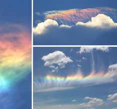"fire rainbows are not actually rainbows and have no connection with fires. The true name for this exquisitely beautiful optical effect is ""circumhorizontal arc""."