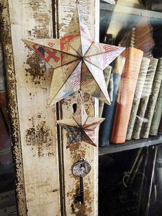 dimensional paper stars…