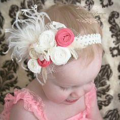 Baby Couture Headband    Pretty Baby Bowtique