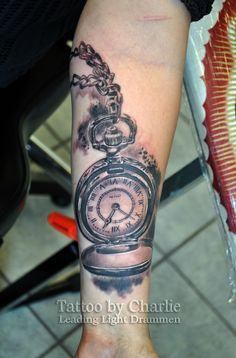 Pocket watch tattoo by gettattoo.deviantart.com on @deviantART