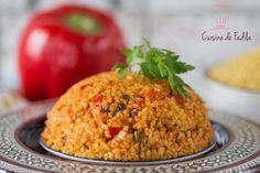 Boulghour à la turque Lebanese Recipes, Turkish Recipes, Ethnic Recipes, Quinoa, Bulgur Salad, Couscous, Vegetarian Recipes, Cooking Recipes, Brunch