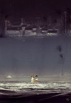 ⌨ALL THE WAY IN by Pascal Campion⌨ #pascalcampion #paintings #artwork