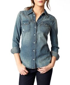Levi's Annie Western Shirt - another to add to my collection of favorite denim shirts