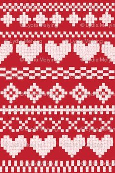 Fair Isle Patterns.